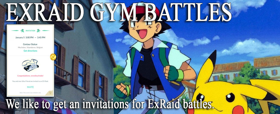 EXRAID GYM BATTLES