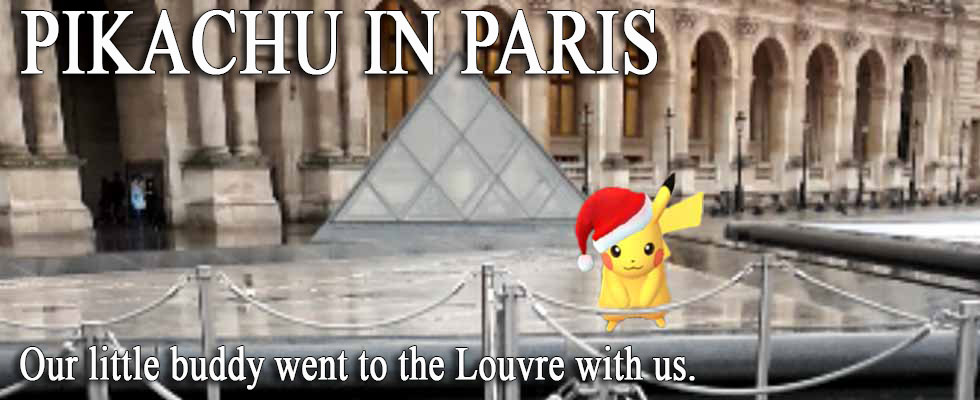 PIKACHU IN PARIS
